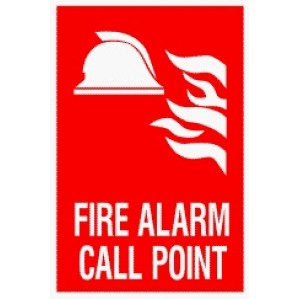EM90 Signs of Safety Fire Alarm Call Point signs