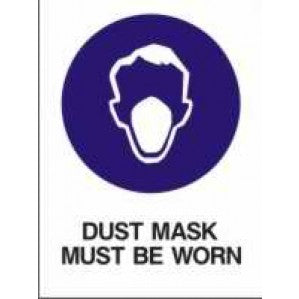 MA12 Signs of Safety Mandatory Mask Must Be Worn sign