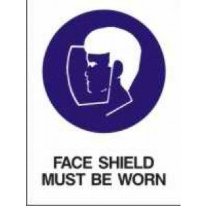 MA20 Signs of Safety Mandatory Face Must Be Worn sign