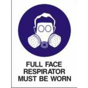 MA21 Signs of Safety Mandatory Respirator Must Be Worn sign