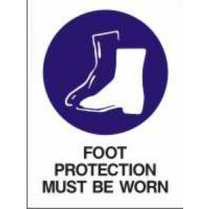 MA226 Signs of Safety Mandatory Safety Footwear Must be Worn On This Site sign