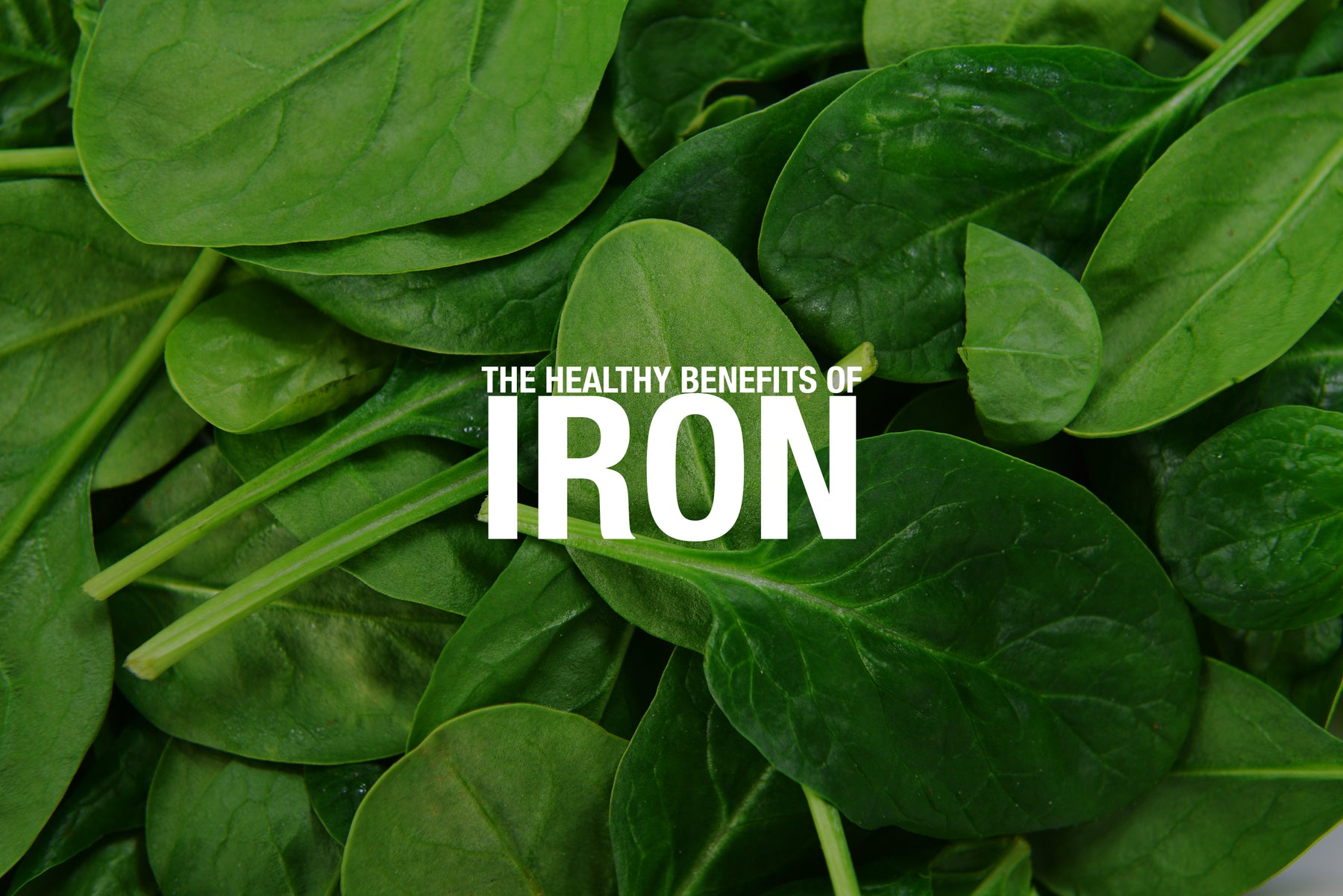 The Healthy Benefits of Iron