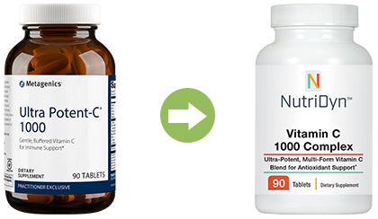Ultra Potent-C replacement Vitamin C 1000 Complex by Nutri-Dyn