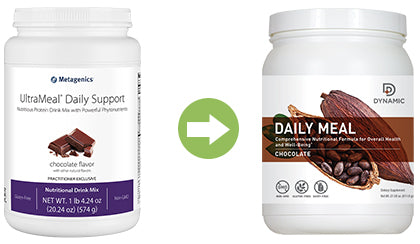 UltraMeal Daily Support replacement Dynamic Daily Meal