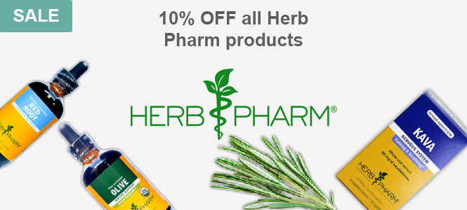 Sale 10% OFF all Herb Pharm products