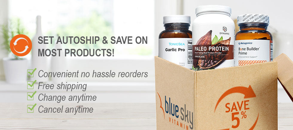 Set autoship and save on most products