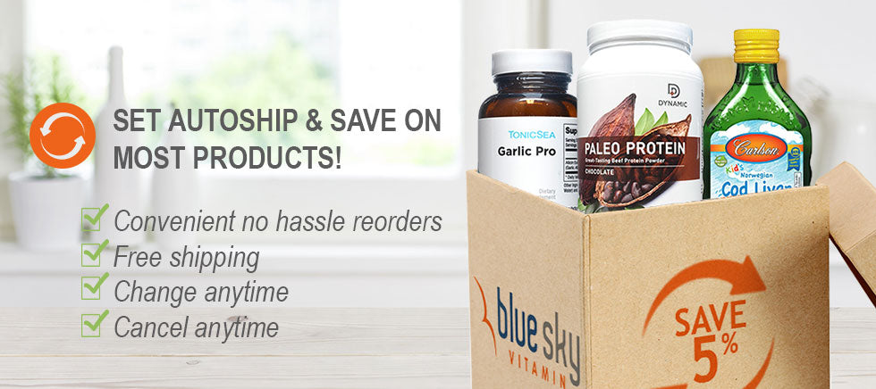 Set auto-ship & save on most vitamin & supplement products.