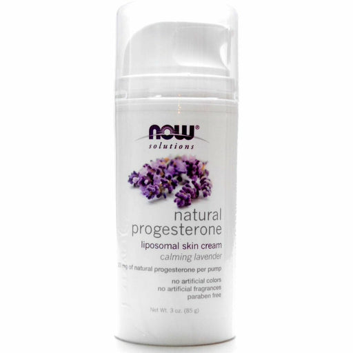NOW, Natural Progesterone Cream