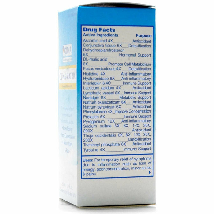 GUNA-Matrix 30 ml by Guna drug facts