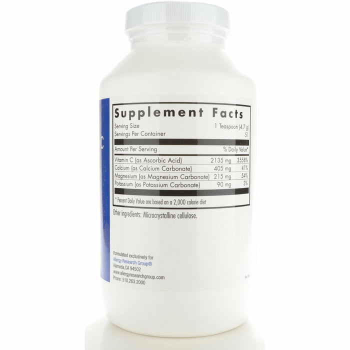 Buffered Vitamin C Powder 240 gms by Allergy Research Group