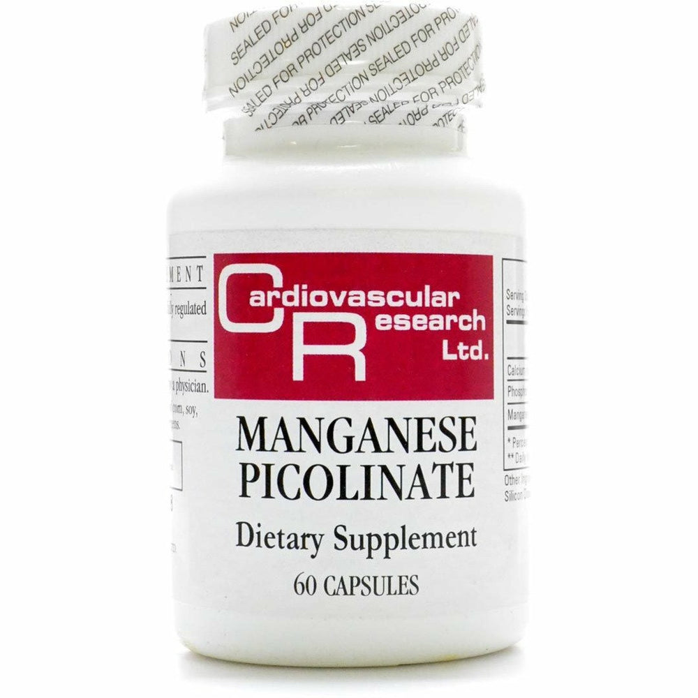 Ecological Formulas, Manganese Picolinate 20 mg 60 caps