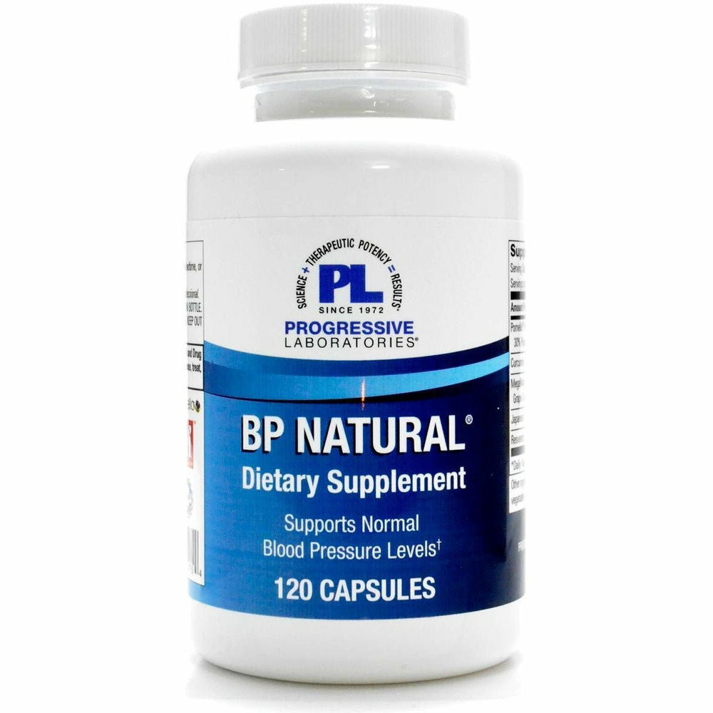 BP Natural 120 caps by Progressive Labs
