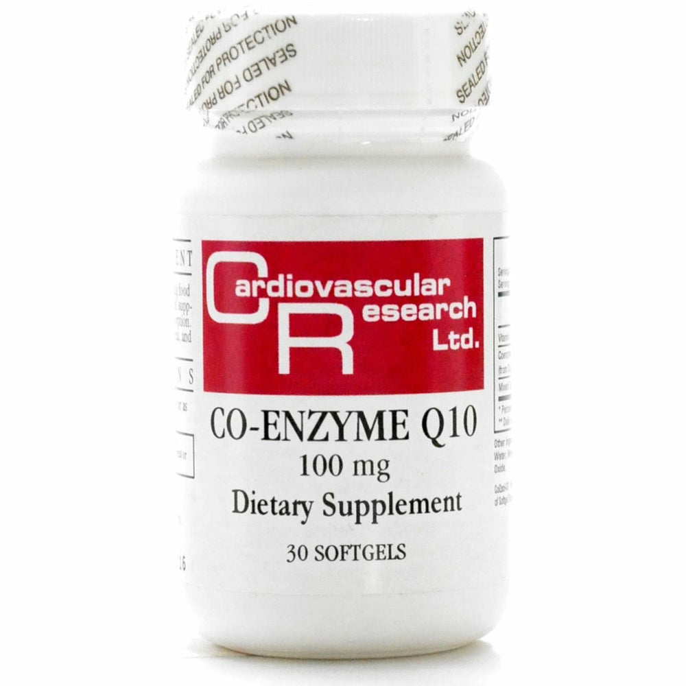 CoEnzyme Q10 100 mg 30 gels by Ecological Formulas