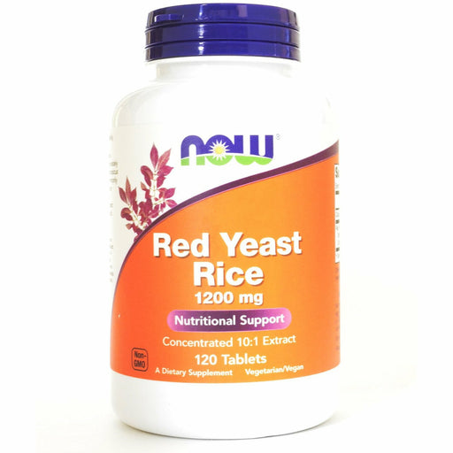 Red Yeast Rice 1200 mg 120 tabs by NOW