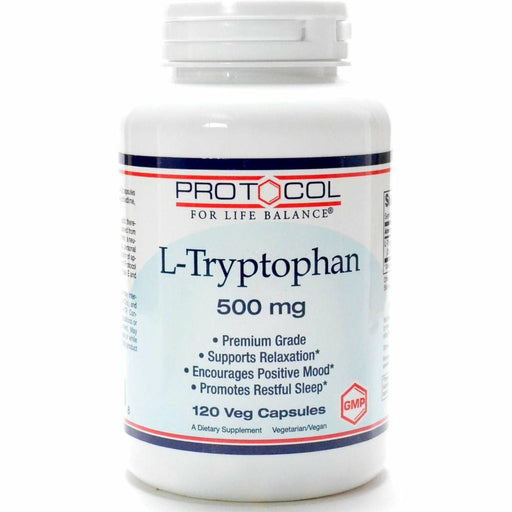 L-Tryptophan 500 mg 120 vcaps