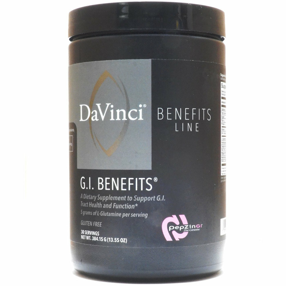 Davinci Labs, G.I. Benefits
