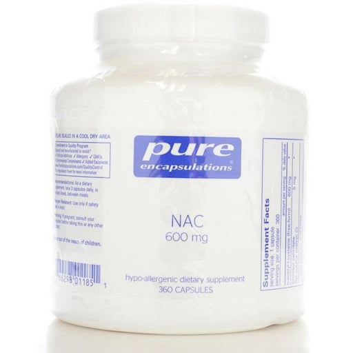 Pure Encapsulations, NAC 600 mg 360 vcaps