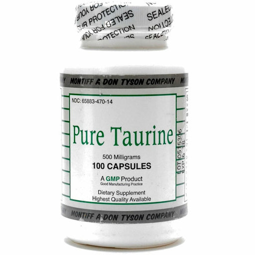 Pure Taurine 500 mg 100 caps