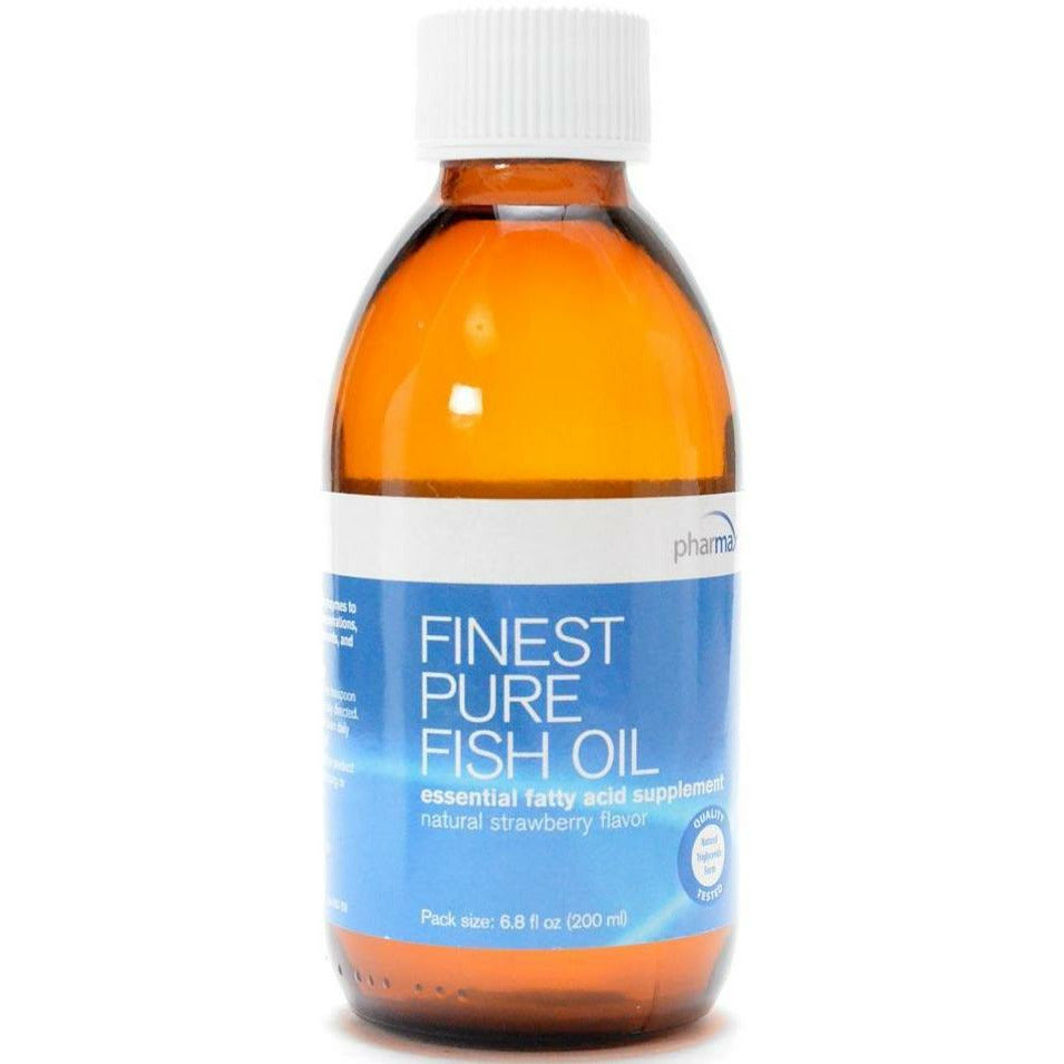 Finest Pure Fish Oil Strawberry 6.8 oz