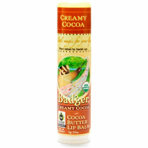 Creamy Cocoa Butter Lip Balm .25oz by W.S Badger Company