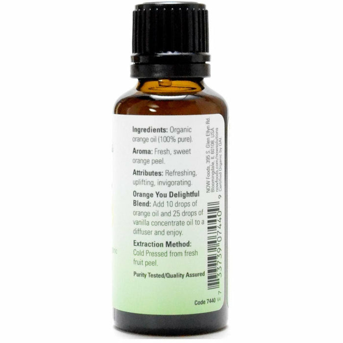 Organic Orange Oil 1 oz by NOW
