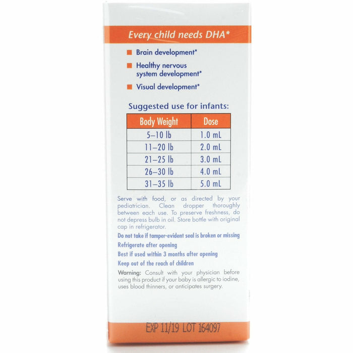DHA Infant 2 oz by Nordic Naturals