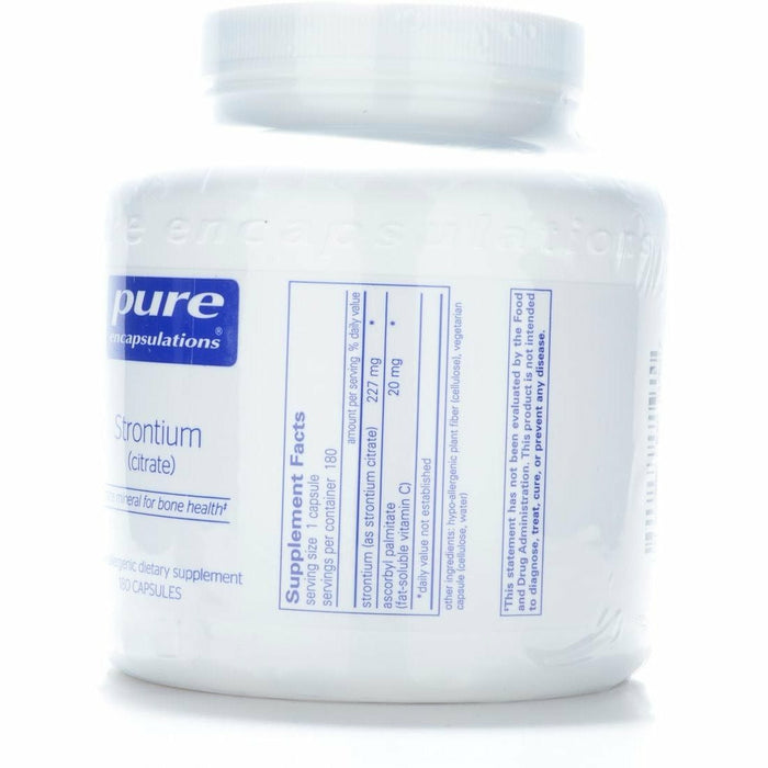 Strontium 227 mg 180 vcaps by Pure Encapsulations