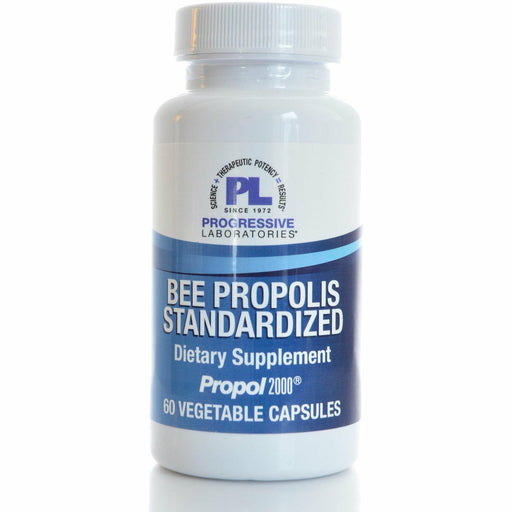 Progressive Labs, Bee Propolis Standardized 60 caps