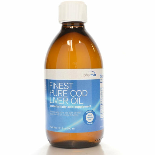 Finest Pure Cod Liver Oil 10.1 fl oz