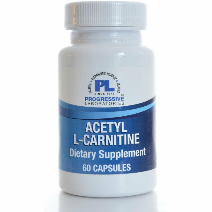 Acetyl-L-Carnitine 500 mg 60 caps by Progressive Labs