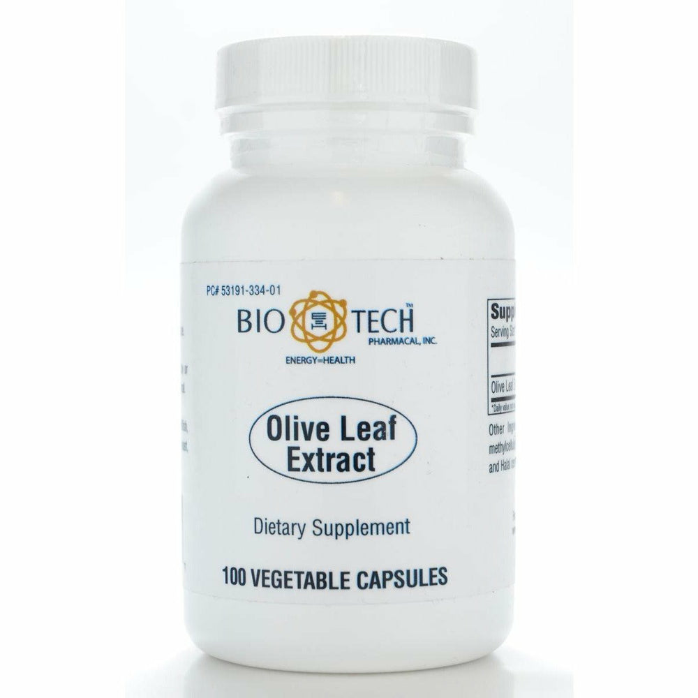 Bio-Tech, Olive Leaf Extract 500 mg 100 caps