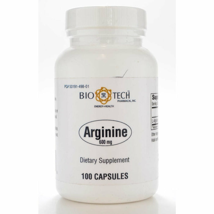 Bio-Tech, Arginine 600 mg 100 caps