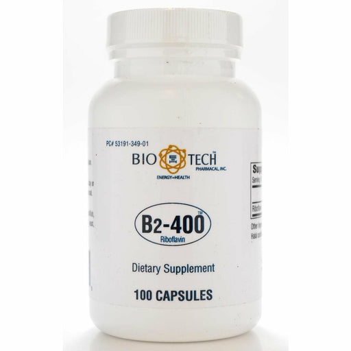 Bio-Tech, Vitamin B-2 400 mg 100 caps