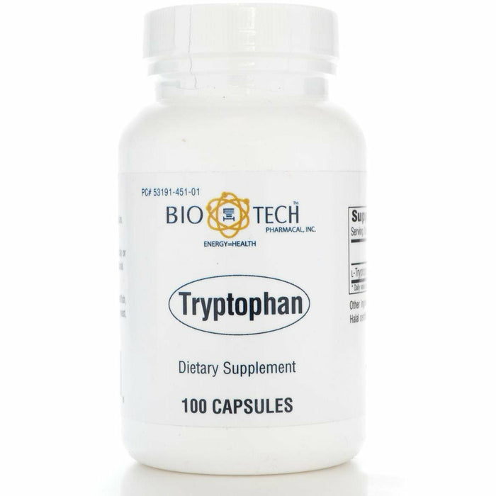 Bio-Tech, Tryptophan 500 mg 100 caps