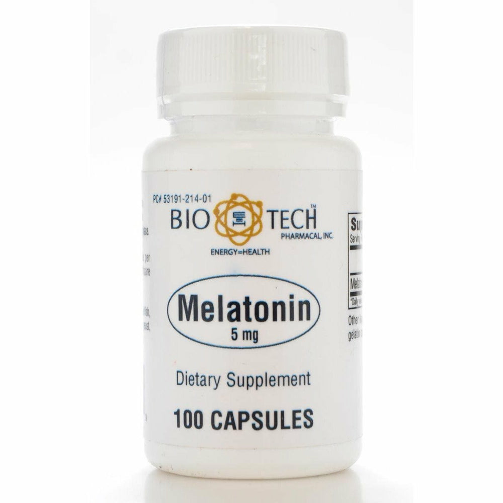 Bio-Tech, Melatonin 5 mg 100 caps
