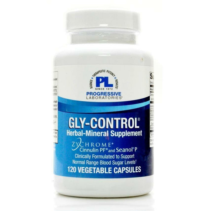 Gly-Control 120 vcaps by Progressive Labs
