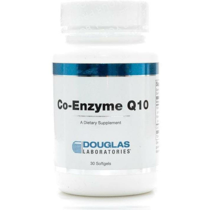 CoEnzyme Q10 100 mg 30 gels by Douglas Labs