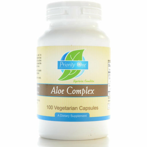 Priority One Vitamins, Aloe Complex 100 vcaps