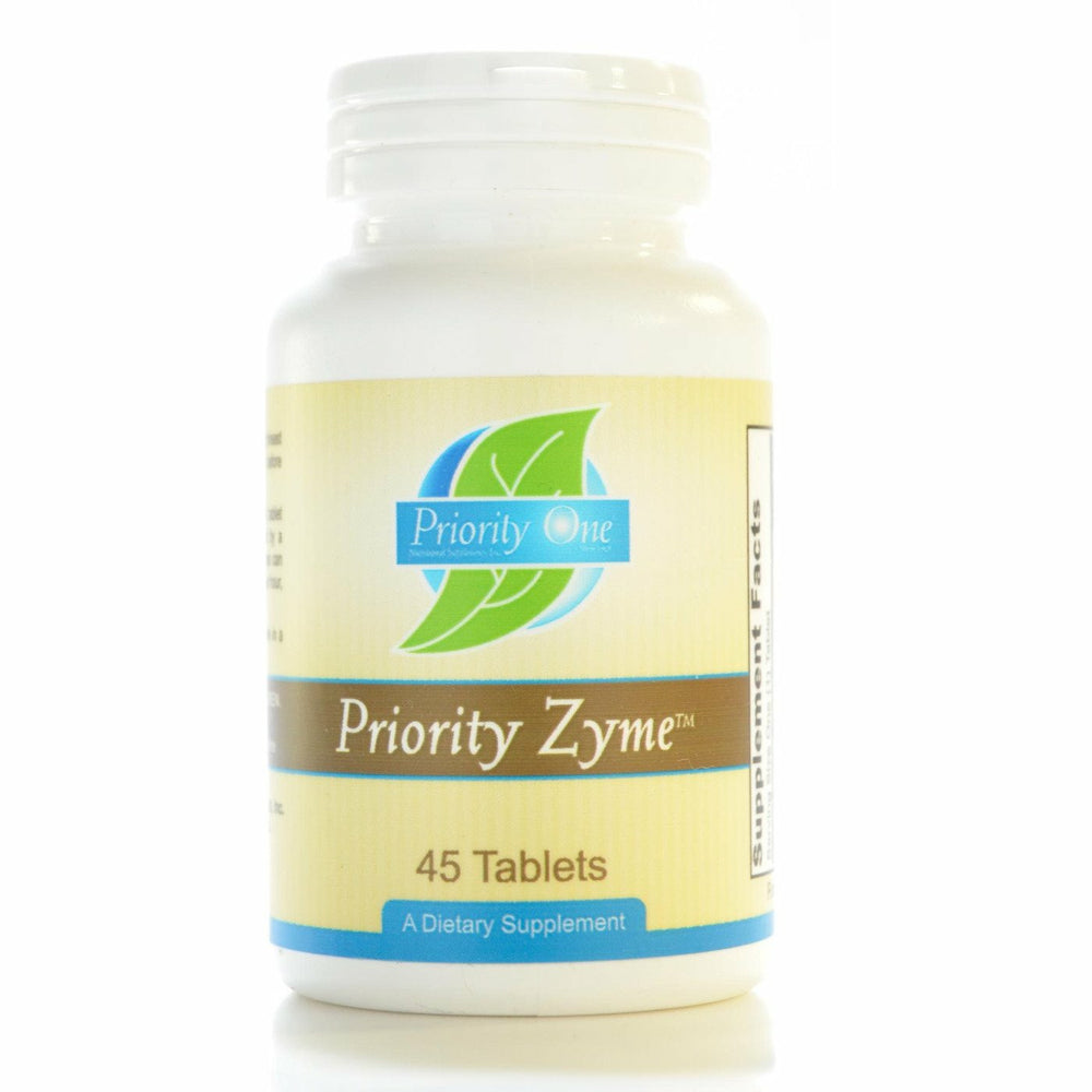 Priority One Vitamins, Priority Zyme 45 tabs