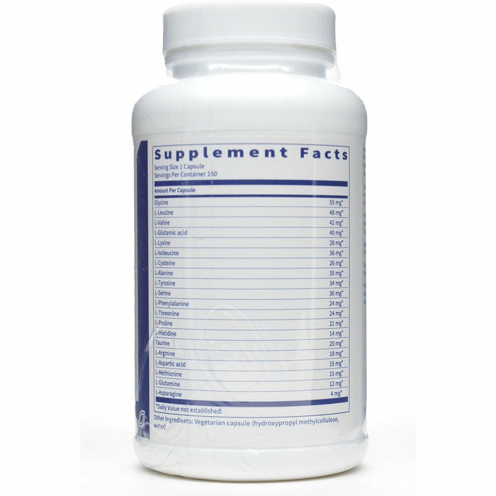 Amino Acid Complete Supplement Facts