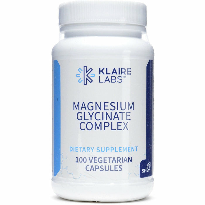 Klaire Labs, Magnesium Glycinate 100mg