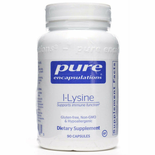 Pure Encapsulations, L-Lysine 500 mg 90 vcaps