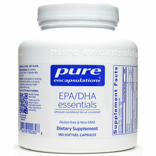 Pure Encapsulations, EPA/DHA Essentials 1000 mg 180 gels