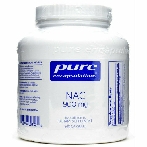 Pure Encapsulations, NAC 900 mg 240 vcaps