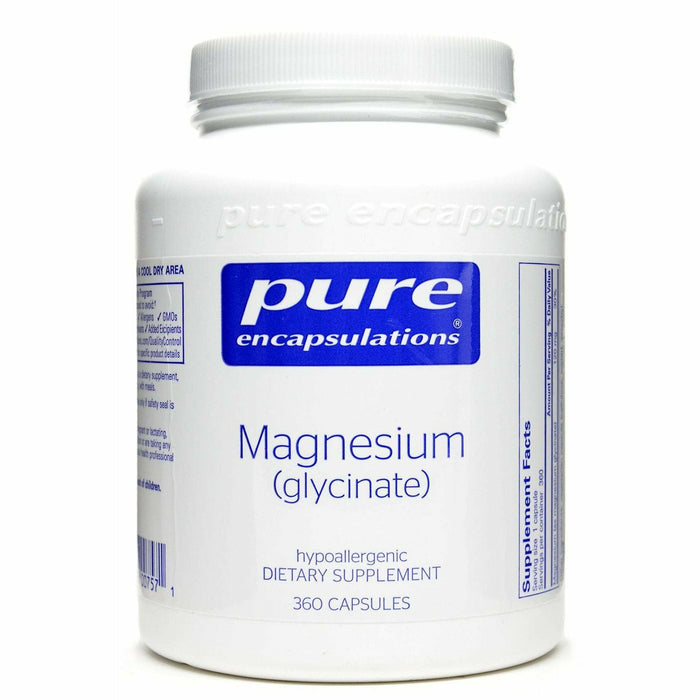 Pure Encapsulations, Magnesium (glycinate) 120 mg 360 vcaps