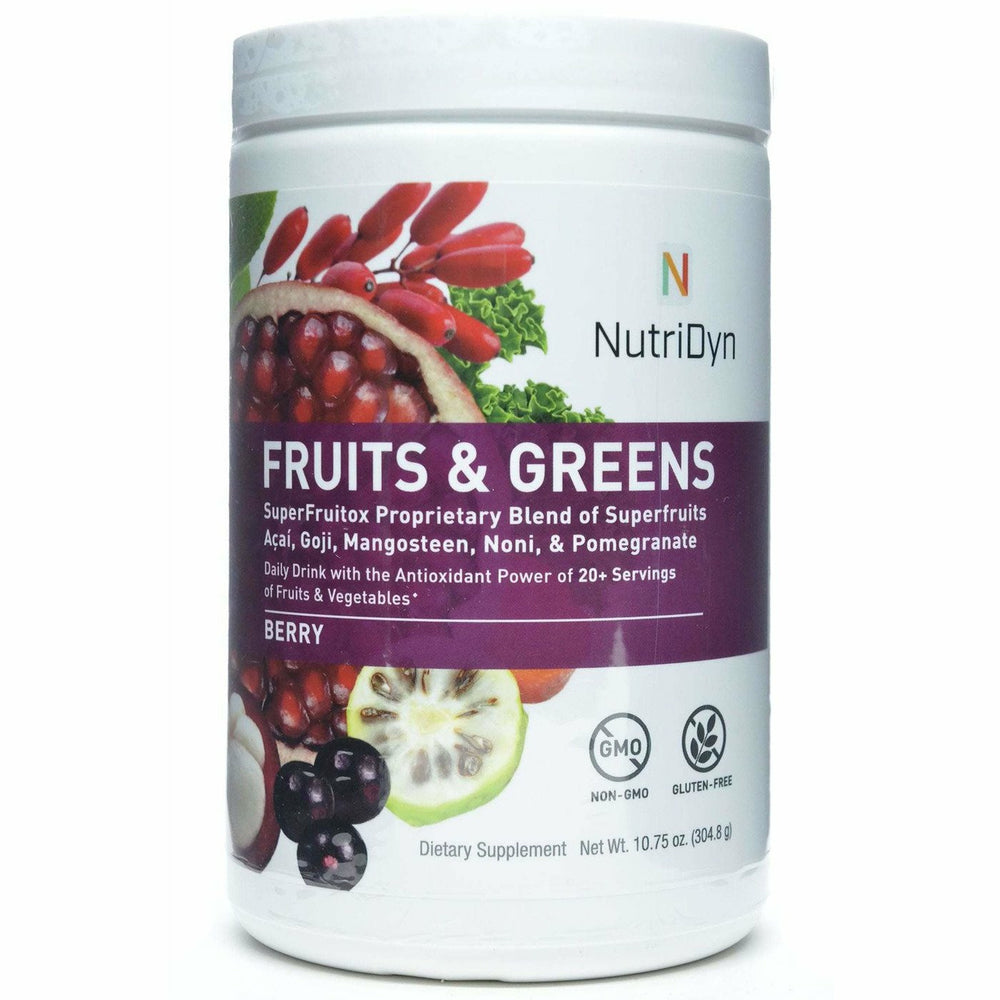 Nutri-Dyn, Fruits & Greens Berry (formerly Dynamic Fruits & Greens)
