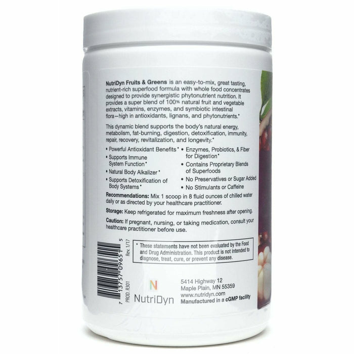 Fruits & Greens Berry Flavor by Nutri-Dyn