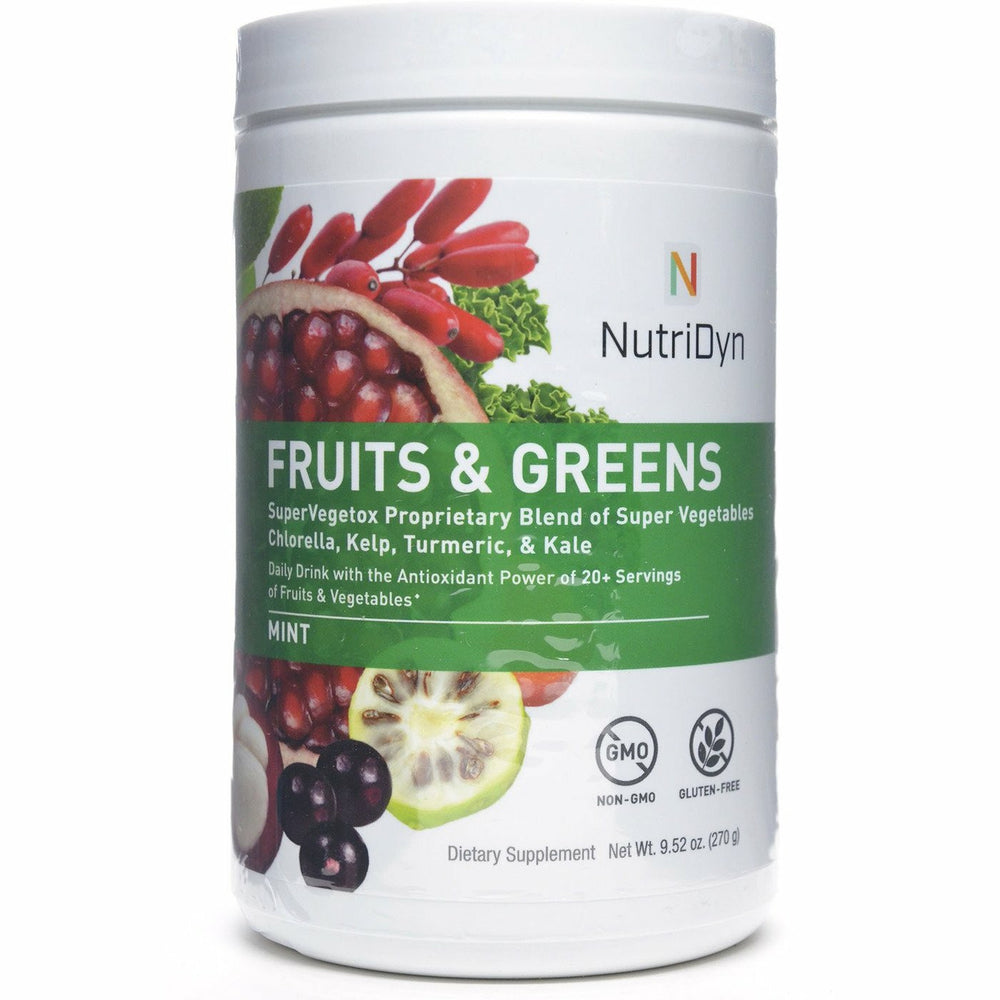 Nutri-Dyn, Fruits & Greens Original Mint (formerly Dynamic Fruits & Greens)