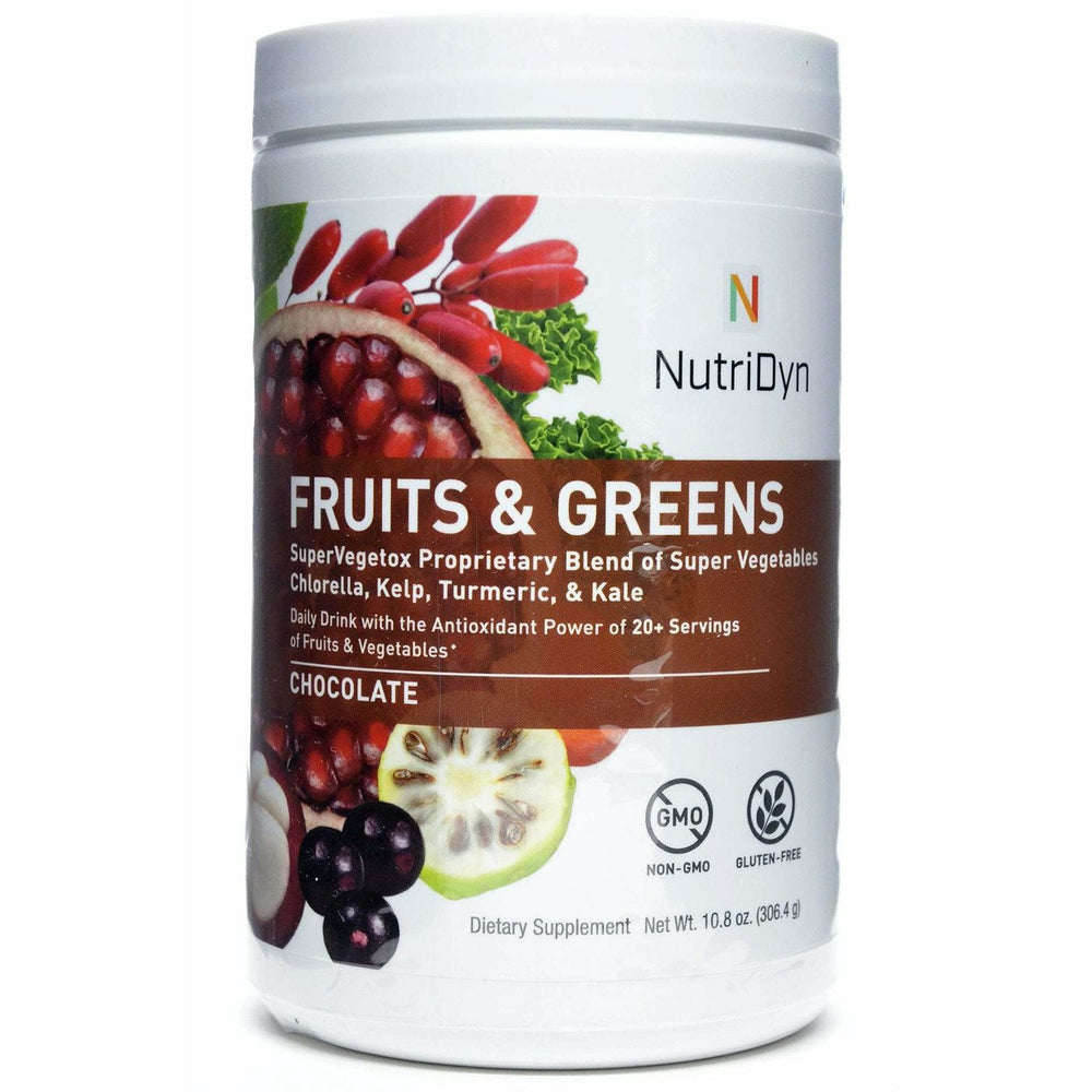 Nutri-Dyn, Fruits & Greens Chocolate (formerly Dynamic Fruits & Greens)