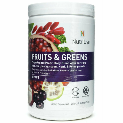 Nutri-Dyn, Fruits & Greens Grape (formerly Dynamic Fruits & Greens)